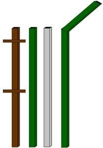 изготовление металлические столбы в Кемерове